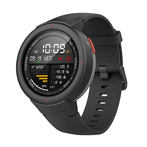 Amazfit Smartwatch Verge 1.3'' OLED Display,GPS Orologio Fitness,Phone-Free Music,RAM 512M,ROM 4GB,risoluzione 360×360...