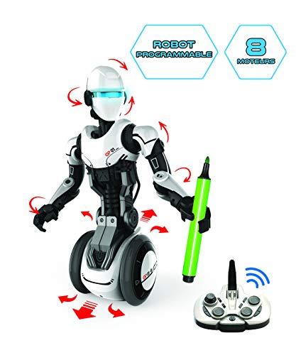 Silverlit - O.P One - Robot radiocommandé programmable - OP One un concentré de technologie - Entiàšrement motorisé - Version Allemande