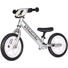 Strider 12 Pro Bicicletta per Bambini, 18 Mesi - 5 Anni, Argento