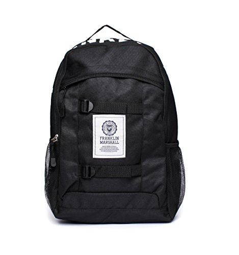 franklin-marshall-black-classic-backpack