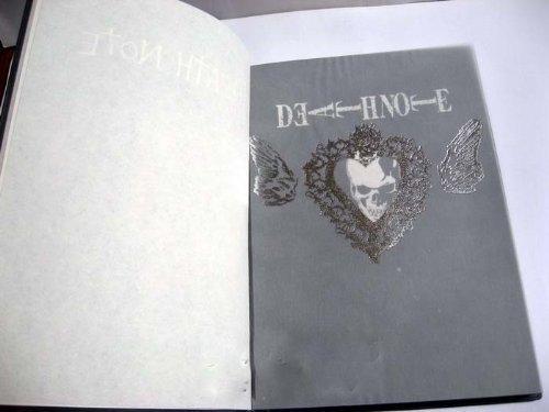 Death Note Cosplay Notebook Book & L Metallhalsketten -Satz (Cosplay Uk Shop)