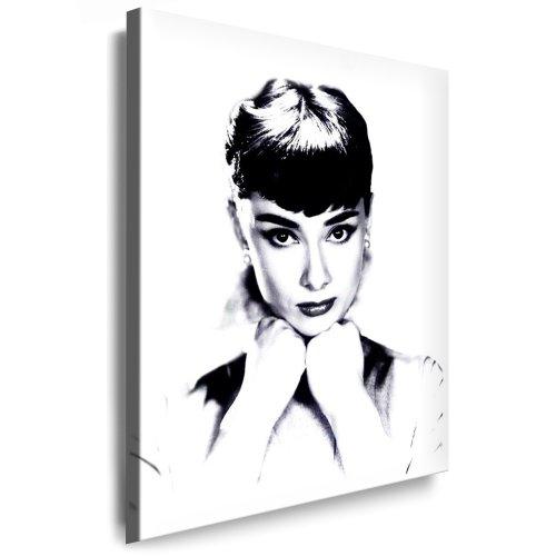 Bilder Kunstdrucke / Boikal / Bild mit Keilrahmen Audrey Hepburn 100x70 cm xxl.89