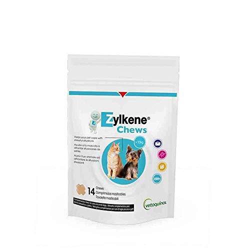 Bocconi da masticare per animali Zylkene Chews - per cani e gatti piccoli (75 mg), contenuto: 14 masticabili = 21 g