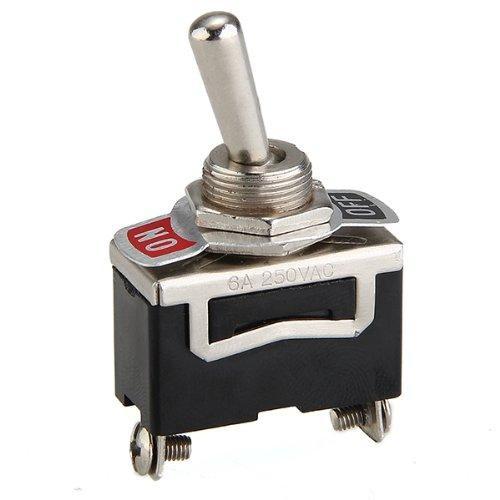 5 x Interruptor Conmutador 2 Posiciones On-Off 12V