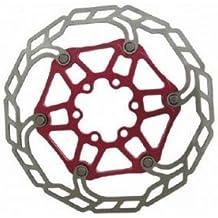 Baradine  - Disco suelto freno acero Baradine DB08 180mm rojo