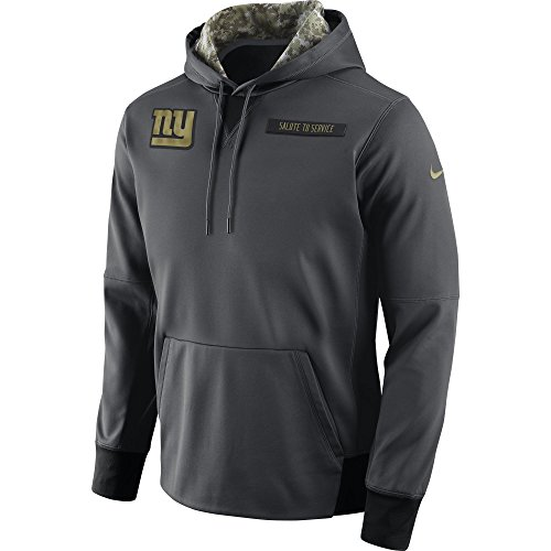 Service Salute To (Nike Salute to Service Fleece Pullover (NFL Giants) Fleece-Kapuzenjacke - Small)