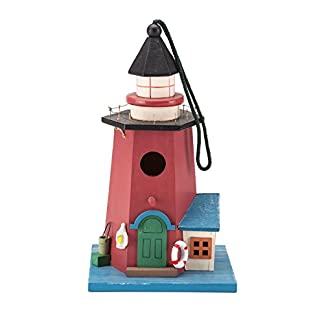 alfresia handmade lighthouse design bird house and feeder Alfresia Handmade Lighthouse Design Bird House and Feeder 41axOrfAubL