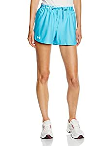 Under Armour Play Up Short Femme Island Blues/White FR : S (Taille Fabricant : SM)