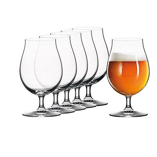 Spiegelau & Nachtmann, 6-teiliges Biertulpen-Set, Kristallglas, 440 ml, 4991884, Beer Classics