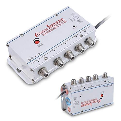 YANFEN 2-Wege-/4-Wege-Ausgang, CATV-Kabel, TV VCR Antenne, Signalverstärker, Verstärker, Video Booster Splitter Verteiler gibt (Größe: 2-Wege-Ausgang) Tv-splitter-booster