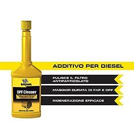 BARDAHL DPF Cleaner Addittivo FAP Pulitore Filtro Anti Particolato Diesel Gasolio Piu Pulito 250 ML