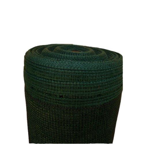 15m Schattiernetz Zaunblende Tennisblende Windschutznetz Bauzaun 150g 2m breit