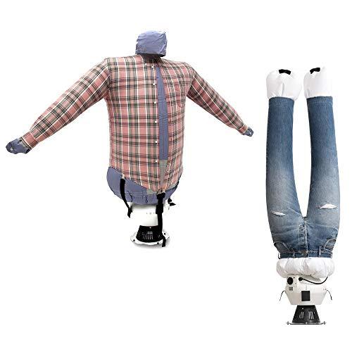EOLO Planchasecadora SA04 INOX Seca y plancha camisas+ pantalones
