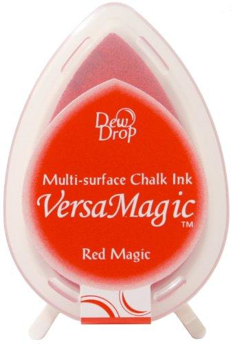 Versamagic Dew Drop Ink Pads Tsukineko Pad, Rot Magic