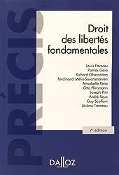 Droit des libertés fondamentales - 7e éd.