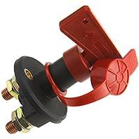 Isolateur Interrupteur de batterie Coupe Electrique 12/ 24V pour Auto voiture camion bateau