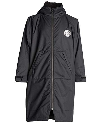 Rip Curl 2018 Winter Surf Poncho/Change Robe BLACK