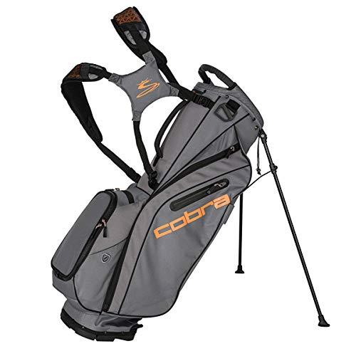 Cobra Ultralight Stand Bag/Golfbag Grau Puma Golftasche 909263, Farbe:Grau - Stand Bag Cobra