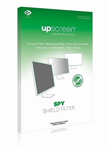 upscreen Spy Shield Filter Blickschutzfilter passend für Industrie-Monitore mit 43.2 cm (17.0 Zoll) Displays [338 x 270 mm, Seitenverhältnis 5:4], Schutz Privatsphäre, abnehmbar, Blendschutz, Antibakterieller Schutz
