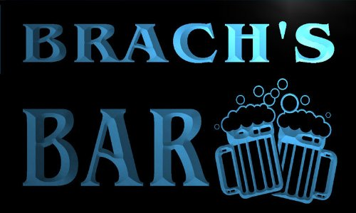 w019657-b-brach-name-home-bar-pub-beer-mugs-cheers-neon-light-sign