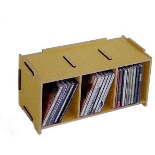Werkhaus Gmbh Son2053 03 Medienbox Cd Natur Spielzeug
