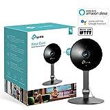 TP-Link Kasa Smart Indoor Cloud-Kamera, kompatibel mit Alexa (Echo Spot, Echo Show und Fire TV, Google Home/Chromecast und IFTTT, 1080p HD, Nachtsicht mit 2-Wege-Audio für Baby/Haustier)