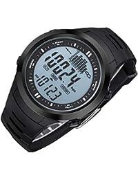 c4ceff228e8 P Prettyia Unisex Orologio Sportivo Banda Attivita Fitness GPS Bussola per  Viaggio Trekking Sci Arrampicata -