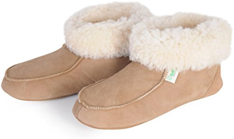 De piel de cordero-zapatos, talla 39 - (Huet patsch 39)