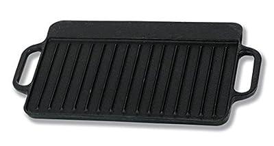 IMUSA USA CORONA-189Y Preseason Reversible Griddle, 12.5-Inch, Black by IMUSA USA
