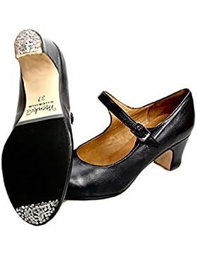 Menkes S.A Zapato Flamenco Niña Piel con Clavos