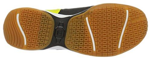 Wilson Recon, Chaussures de Tennis Mixte Adulte Noir (Black / Sulphur Spring / White)