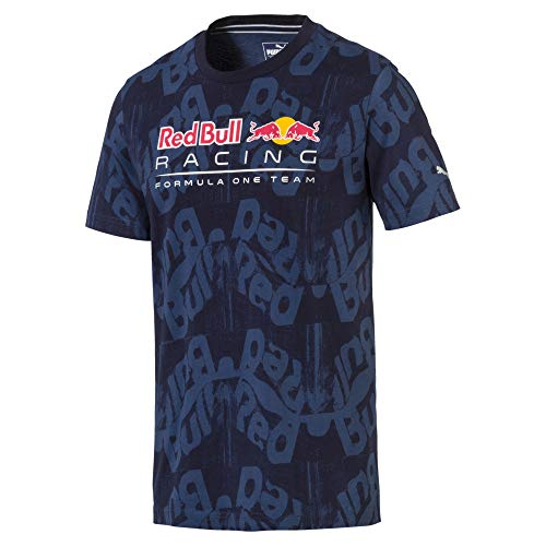 Puma T-Shirt Red Bull Racing AOP pour Homme Night Sky L