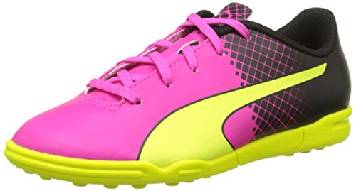 Puma Evospeed 5 5 Tt, Chaussures de Pink (Pink Glo/Safety Yellow/Black)