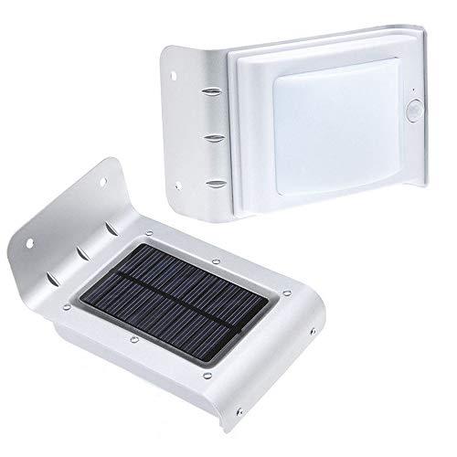 JiuRui LED Lampe Garten-Rasen-Einsatz Gartenlicht Solar Licht
