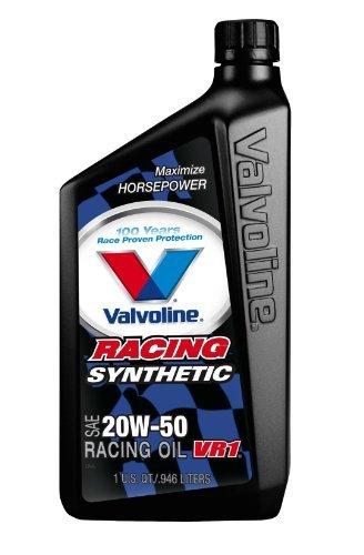 valvoline-679082-cs6-vr1-20w-50-synthetic-racing-motor-oil-1-quart-bottle-pack-of-6-by-valvoline