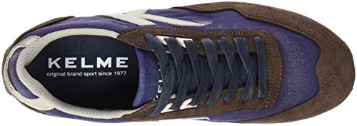 Kelme Pasión Mr, Baskets Basses Homme Bleu - Marino