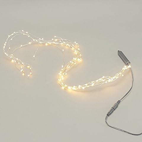125er LED-Lichterstrang WARM WHITE