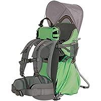Altus Excellent - Bolsa de deporte porta bebes, unisex, color gris/verde, talla única