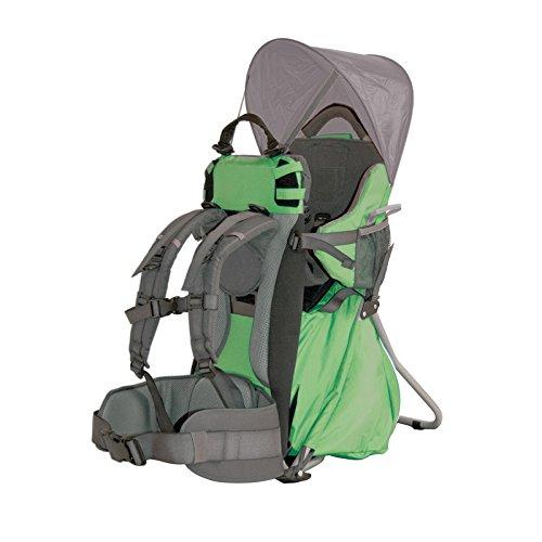 Altus Excellent - Bolsa de deporte porta bebes, unisex, color gris / verde, talla única