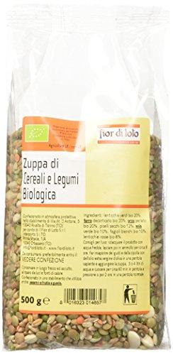 Fior di Loto Zuppa di Cereali e Legumi - 6 Pezzi da 500 gr