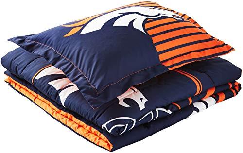 The Northwest Company NFL Denver Broncos Twin Tröster und Sham, Einheitsgröße, Multicolor