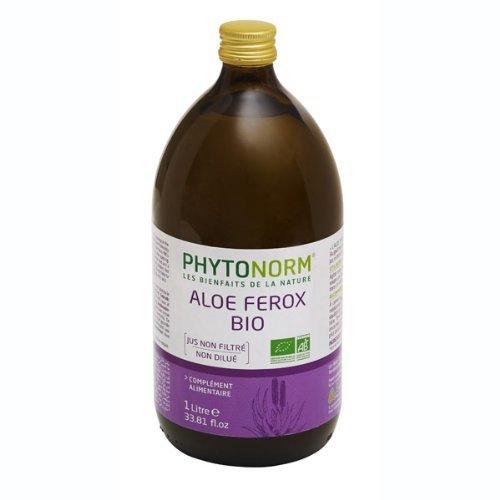 Organic Aloe Ferox Juice 1l by Phytonorm