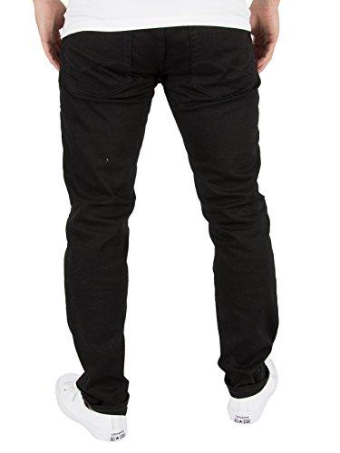 JACK & JONES Herren Slim Jeans Schwarz (Black Denim)