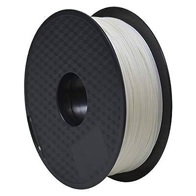 GIANTARM Filament ABS, 3D Drucker filament 1.75mm, 3D Filament 1kg Rolle for 3D Drucker, Weiß