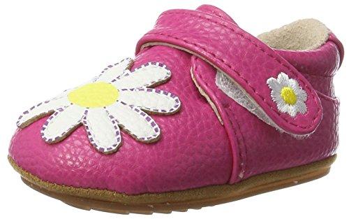 Rose & Chocolat Baby Mädchen Dainty Daisy Lauflernschuhe Pink (Fuchsia)