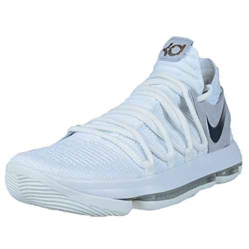 Nike KD 10 Still KD WHITE/CHROME-PURE PLATINUM Mejor Línea Barata Especial Ej5vVYoU