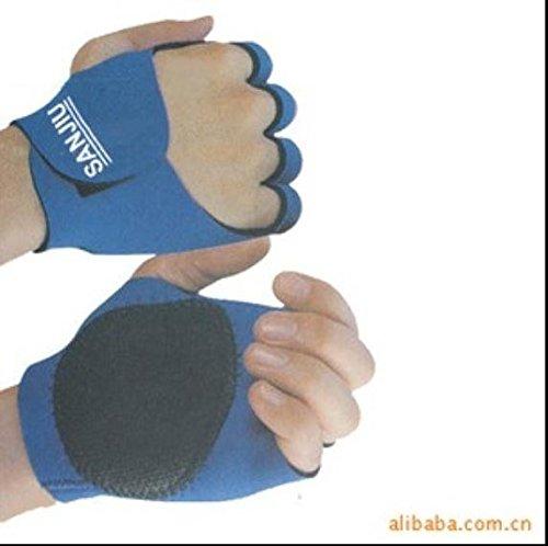 Bazaar Sport di gomma della bicicletta all'aperto proteggere palme manopole guanti