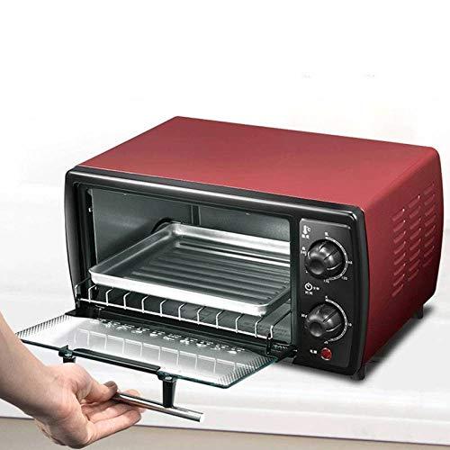 BBG 12 litros pequeño Horno eléctrico, Mini Horno doméstico,Rojo,Un tamaño