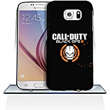 Samsung Galaxy S6 Funda Case Call of Duty: Black Ops III, Cool Call of Duty: Black Ops III Games Samsung S6 Phone Cases Waterproof for Samsung Galaxy S6 Call of Duty: Black Ops III Hard Plastic Protective Funda Case