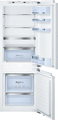 Bosch KIS77AD30 Einbau-Kühl-Gefrier-Kombination  A  Kühlen: 111 L  Gefrieren: 61 L  Weiß  Super Gefrieren  Big Box